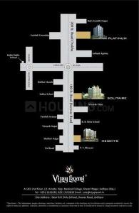 Project Image of 0 - 1140 Sq.ft 2 BHK Apartment for buy in Vijay Laxmi Solitaire