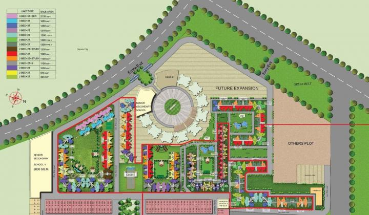 Project Image of 895 - 2175 Sq.ft 2 BHK Apartment for buy in Amrapali Adarsh Awas Yojna