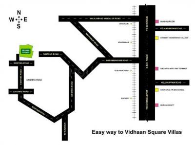 Project Image of 716 - 860 Sq.ft 2 BHK Villa for buy in Praney Square