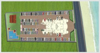 Project Image of 1750 - 2250 Sq.ft 3 BHK Apartment for buy in Galaxy Ritz Marina