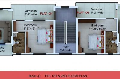 Project Image of 7641.19 - 10688.56 Sq.ft 2 BHK Apartment for buy in Sunrise Plaza
