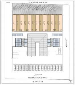 Project Image of 387.0 - 563.0 Sq.ft 1 BHK Apartment for buy in Shree Ganesh Amrut Garden