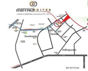Gallery Cover Image of 1785 Sq.ft 3 BHK Apartment for rent in Vaishali for 30000