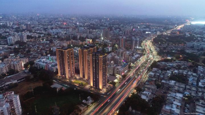 Project Image of 1672.0 - 2705.0 Sq.ft 3 BHK Apartment for buy in Satyam Skyline II