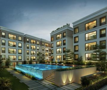 Gallery Cover Image of 1100 Sq.ft 2 BHK Apartment for buy in Sholinganallur for 6674000