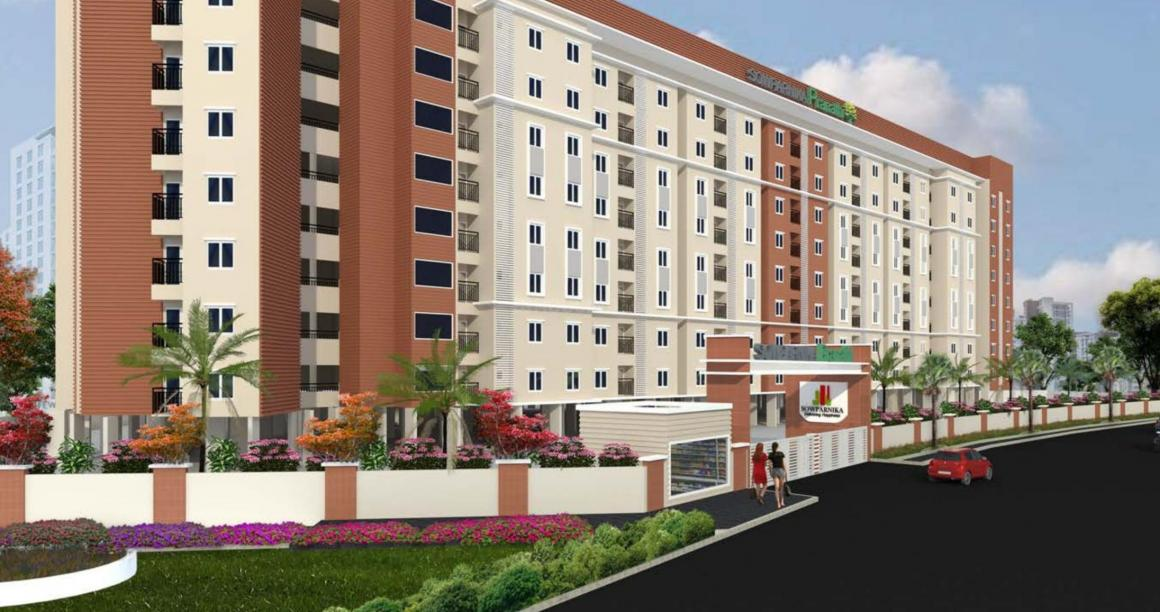 Building Image of 547 Sq.ft 1 BHK Apartment for buy in Kumbalgodu for 2800000