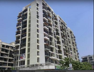 Gallery Cover Image of 670 Sq.ft 1 BHK Apartment for buy in Aaron Shree Chamunda Harmony , Kamothe for 6000000