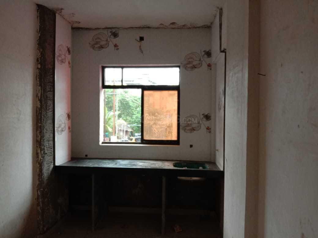 Kitchen Image of 350 Sq.ft 1 RK Apartment for buy in Dombivli West for 2150000