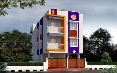 Gallery Cover Image of 1100 Sq.ft 2 BHK Apartment for buy in Perungudi for 5800000