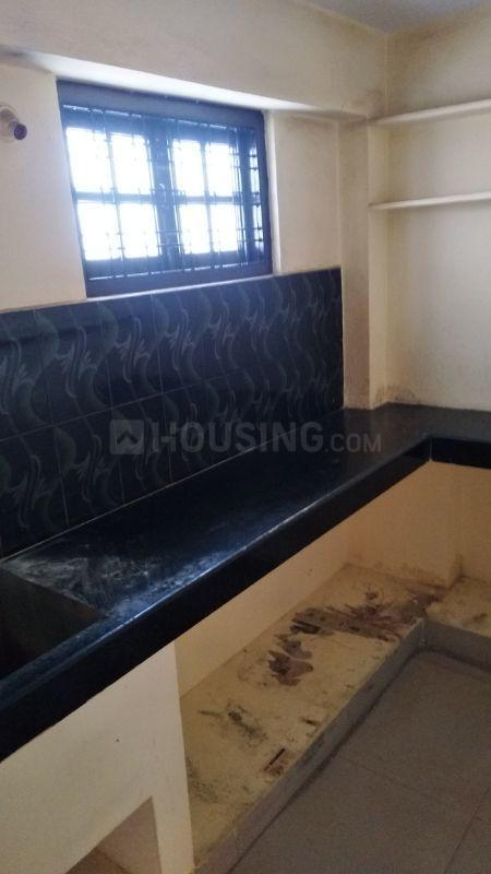 Kitchen Image of 700 Sq.ft 1 BHK Independent House for rent in Karwan for 6500