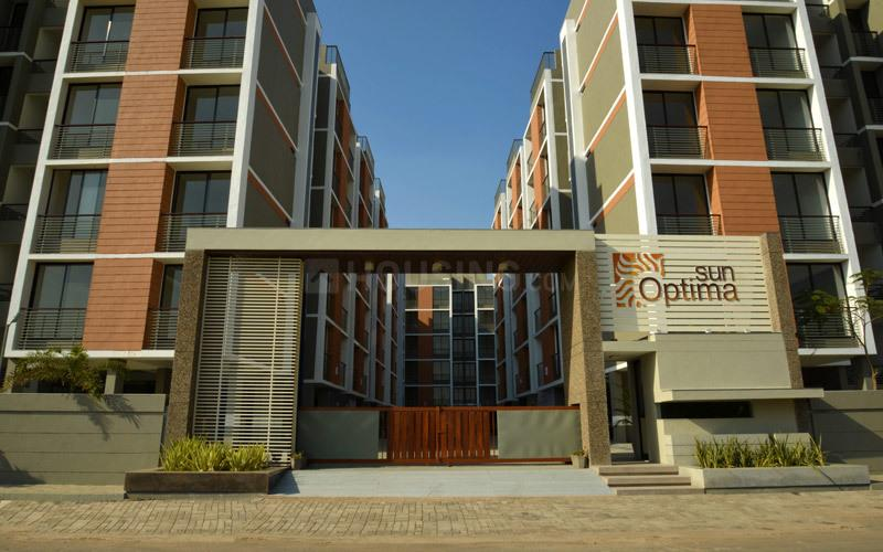 Building Image of 1035 Sq.ft 2 BHK Apartment for rent in Bopal for 12000