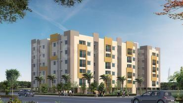 Gallery Cover Image of 1160 Sq.ft 3 BHK Apartment for buy in Ramky Greenview Apartments, Malikdanguda for 4700000