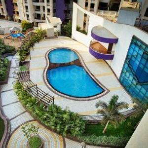 Gallery Cover Image of 600 Sq.ft 1 BHK Apartment for rent in Kasarvadavali, Thane West for 16000