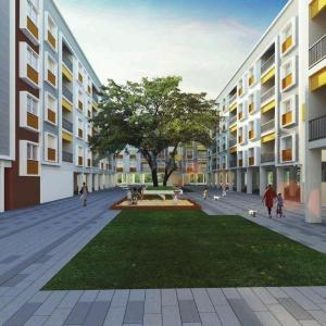 Gallery Cover Image of 886 Sq.ft 2 BHK Apartment for buy in TVS Flourish , Padappai for 3974000