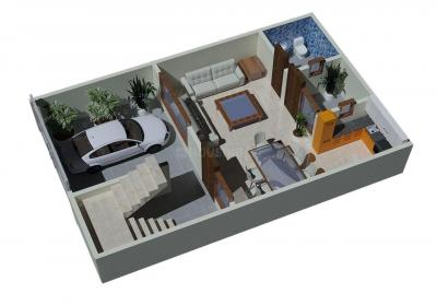 Gallery Cover Image of 1450 Sq.ft 3 BHK Villa for buy in Sector 74 for 4635000