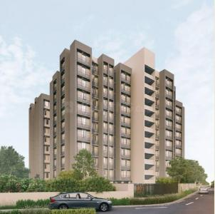 Gallery Cover Image of 800 Sq.ft 1 BHK Apartment for buy in Saanvi Aarambh, Chandlodia for 2600000