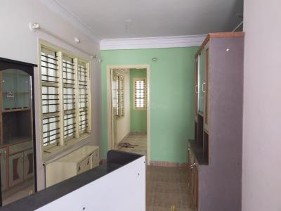 Gallery Cover Image of 512 Sq.ft 1 BHK Independent Floor for rent in Murugeshpalya for 10000
