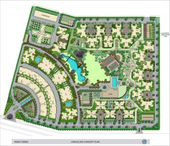 Gallery Cover Image of 1580 Sq.ft 3 BHK Apartment for buy in Paras Tierea, Sector 137 for 5680000