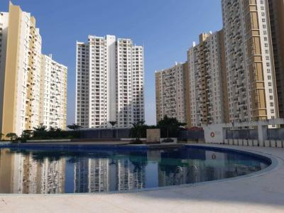 Gallery Cover Image of 1955 Sq.ft 3 BHK Apartment for rent in Merlin Elita Garden Vista, New Town for 25000