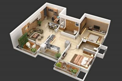 Gallery Cover Image of 799 Sq.ft 2 BHK Apartment for buy in Moze Skyways Esfera 2, Lohegaon for 4950000