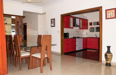 Dining Room Image of PG 4643257 Marathahalli in Marathahalli