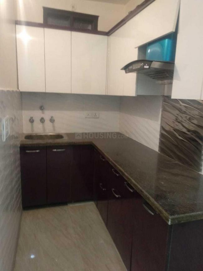 Kitchen Image of 500 Sq.ft 1 BHK Independent Floor for rent in Uttam Nagar for 7000