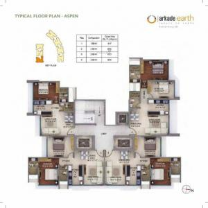 Gallery Cover Image of 1658 Sq.ft 3 BHK Apartment for buy in Runwal Forests, Kanjurmarg West for 21600000