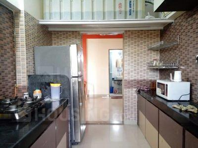 Kitchen Image of 882 Sq.ft 3 BHK Apartment for rent in Mira Road East for 25000