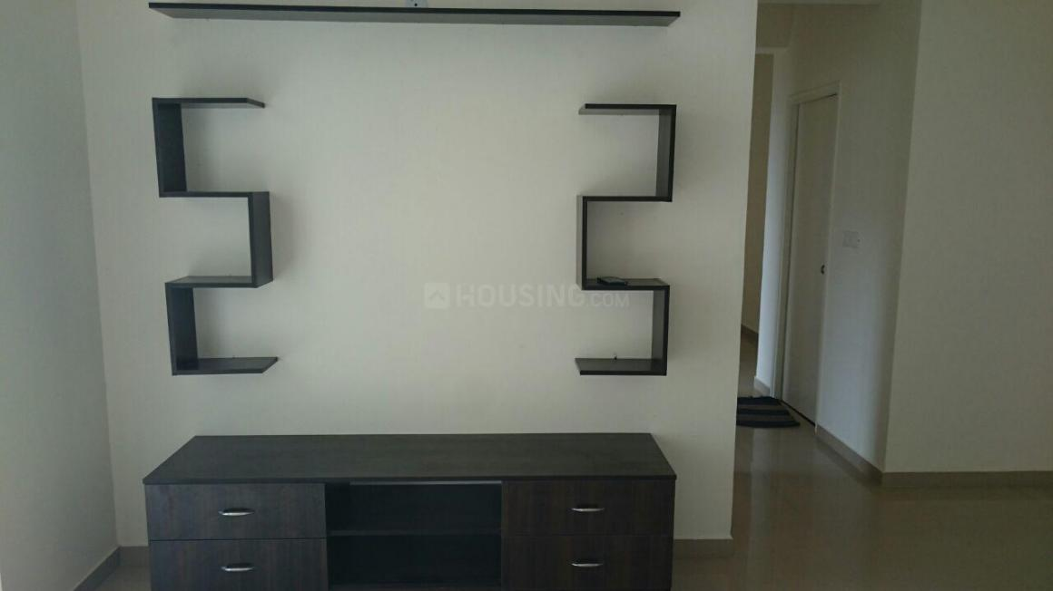 Living Room Image of 1420 Sq.ft 3 BHK Apartment for rent in DLF Westend Heights, Akshayanagar for 26000
