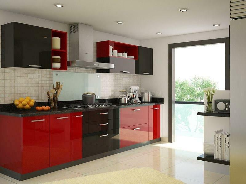 Kitchen Image of 1700 Sq.ft 3 BHK Apartment for buy in Sector 150 for 8755000