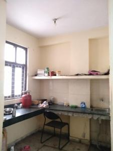 Kitchen Image of Akanksha Hostel in Lado Sarai