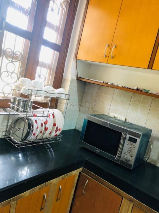 Kitchen Image of Pink Room PG in Sector 46