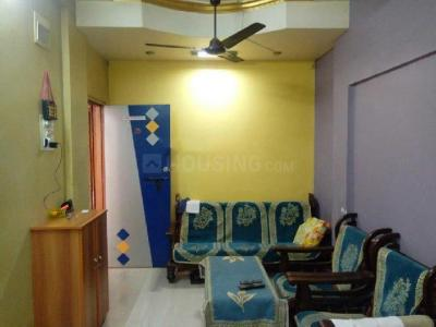 Gallery Cover Image of 650 Sq.ft 1 BHK Apartment for rent in Airoli for 27000