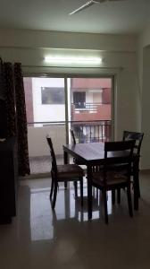Dining Area Image of 1685 Sq.ft 3 BHK Apartment for rent in Value Bhavya Serene, Kasavanahalli for 25000