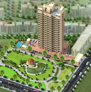Gallery Cover Image of 725 Sq.ft 1 BHK Apartment for buy in Star Hibiscus Heights, Bhayandar East for 5437500