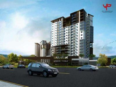 Gallery Cover Image of 1417 Sq.ft 2 BHK Apartment for buy in Windsor Troika, Akshayanagar for 8600000