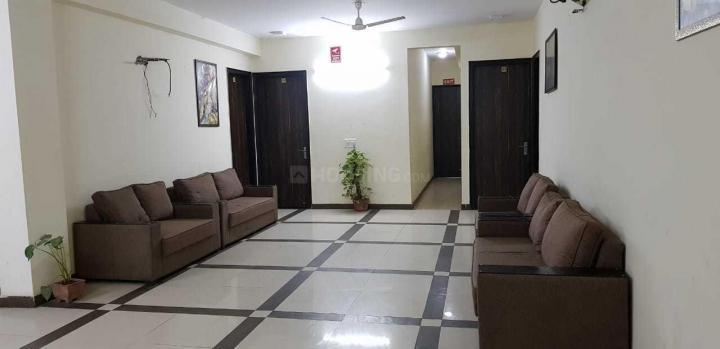 एसएसएस पीजी इन सेक्टर 23 के लिविंग रूम की तस्वीर