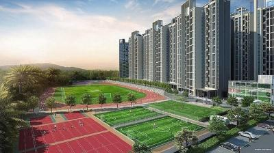 Gallery Cover Image of 1256 Sq.ft 2 BHK Apartment for buy in Ganga Legends County, Bavdhan for 9600000