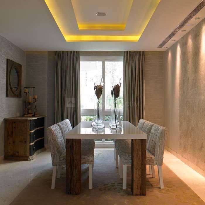 Dining Area Image of 4000 Sq.ft 4 BHK Apartment for rent in Byatarayanapura for 150000