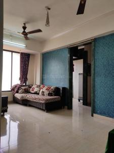 Gallery Cover Image of 700 Sq.ft 1 BHK Apartment for rent in Airoli for 22500