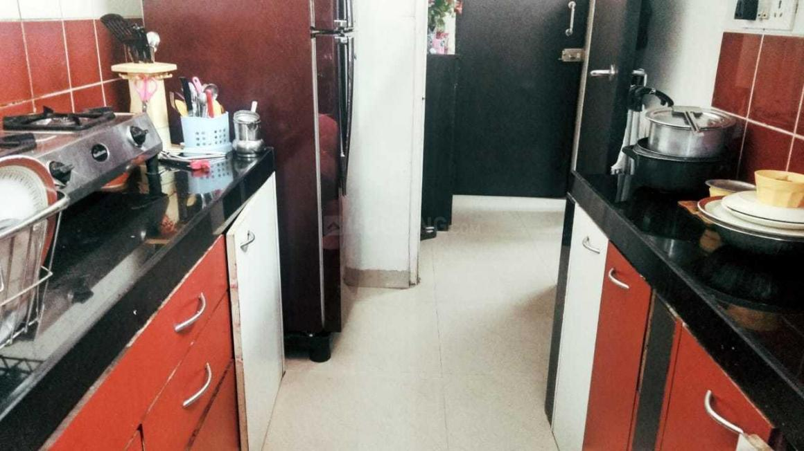 Kitchen Image of 585 Sq.ft 1 RK Apartment for rent in Borivali West for 20000