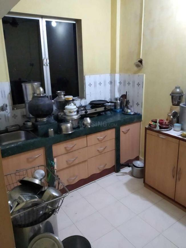 Kitchen Image of 575 Sq.ft 1 BHK Independent House for buy in Dombivli East for 3500000
