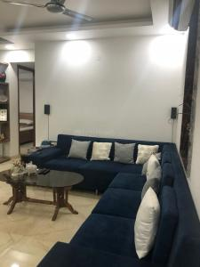 Gallery Cover Image of 1500 Sq.ft 3 BHK Apartment for rent in Sector 6 Dwarka for 45000