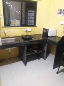 वाघोली में आई में किचन की तस्वीर