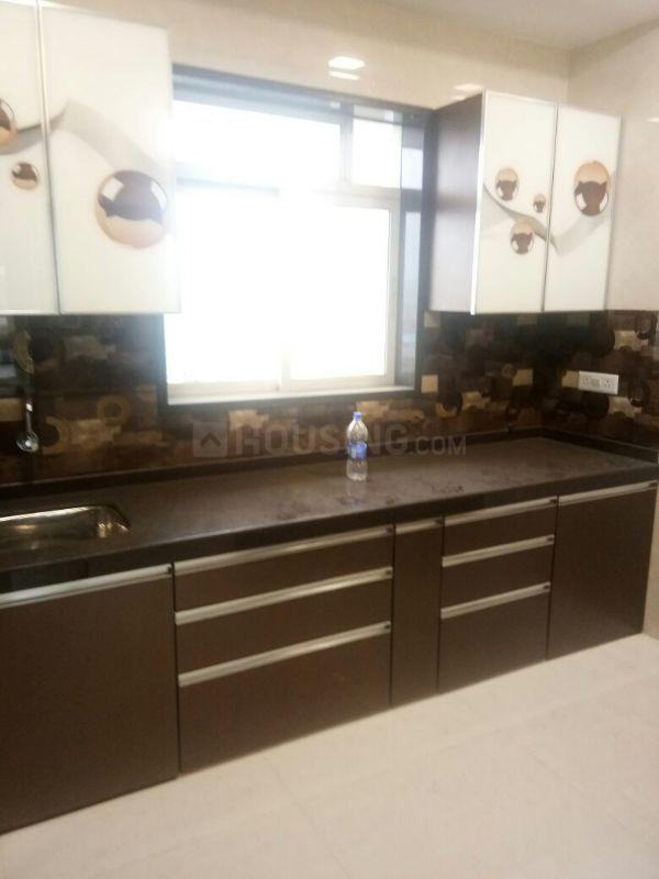 Kitchen Image of 1150 Sq.ft 2 BHK Apartment for rent in Mulund East for 42000