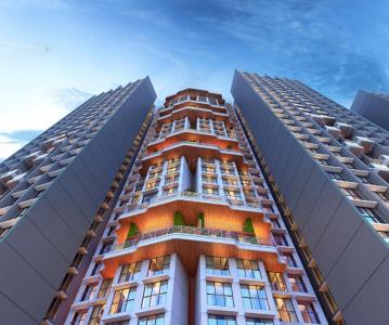Gallery Cover Image of 733 Sq.ft 2 BHK Apartment for buy in Kanakia Codename Future D, Powai for 18048000