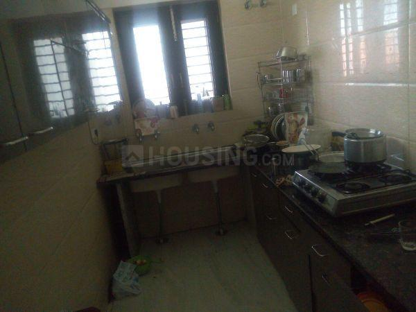 Kitchen Image of 1500 Sq.ft 3 BHK Independent Floor for rent in Sector 31 for 17000