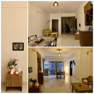 Gallery Cover Image of 2100 Sq.ft 3 BHK Apartment for rent in Gauthami Green Blossoms, Kokapet for 36000