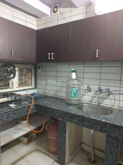Kitchen Image of 500 Sq.ft 1 BHK Independent Floor for rent in Patel Nagar for 25000