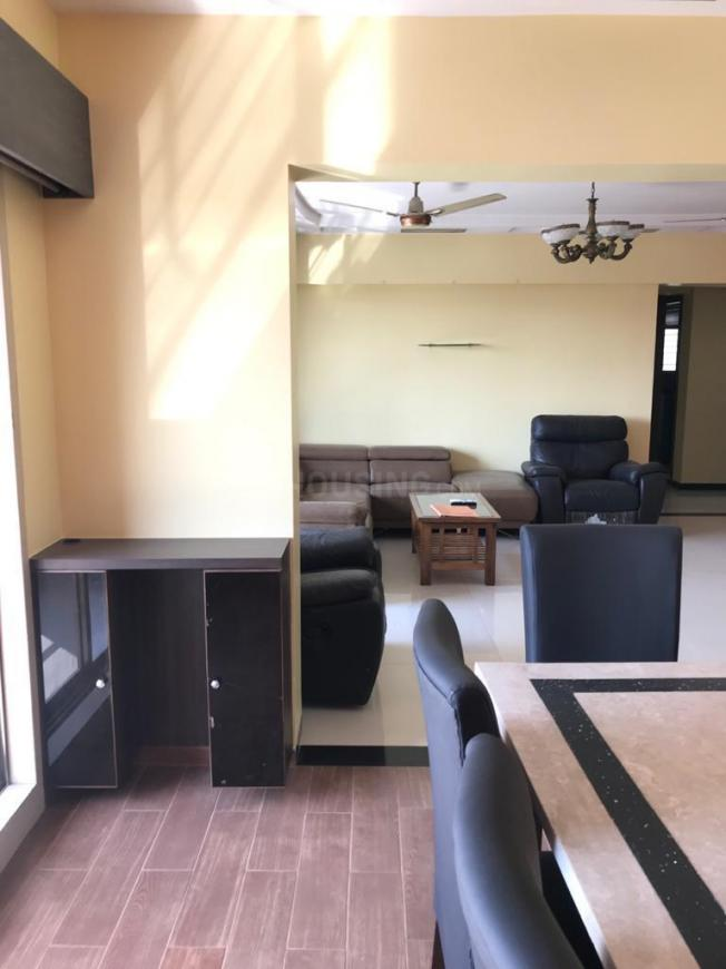Living Room Image of 1500 Sq.ft 3 BHK Apartment for rent in Borivali West for 45000